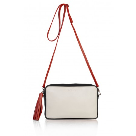 PLUS CHIC Negro-Blanco-Rojo