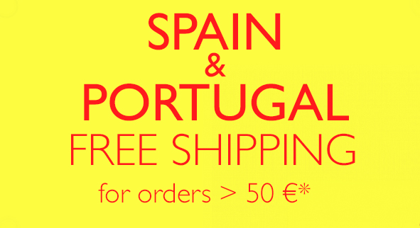 SPAIN & PORTUGAL Free Shipping