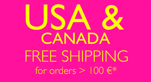 USA and CANADA free shipping >100€